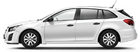 Chevrolet Cruze SW Summit White Белый
