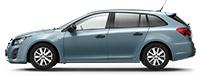 Chevrolet Cruze SW Mystic Moonlight Blue Синий металлик