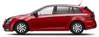 Chevrolet Cruze SW Velvet Red Красный металлик