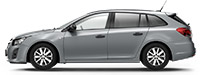 Chevrolet Cruze SW Smokey Grey Серый металлик
