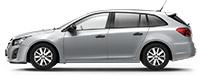 Chevrolet Cruze SW Ice Silver Серебристый металлик