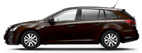 Chevrolet Cruze SW Deep Espresso Brown Коричневый металлик