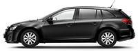 Chevrolet Cruze SW Carbon Flash Черный металлик