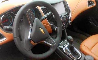 салон нового Chevrolet Cruze 2014