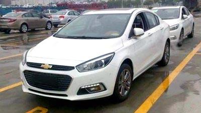 Новый Chevrolet Cruze без камуфляжа