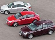 Семейство Chevrolet Cruze - качество по доступным ценам